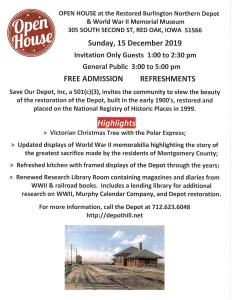 Depot Open House