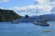 The beautiful Picton Harbour