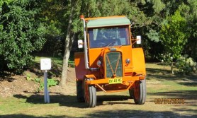 Moss tractor stays behind in Havelock