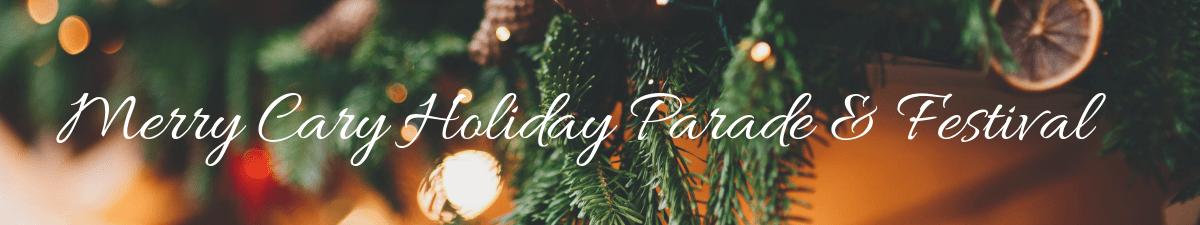 merry cary holiday parade