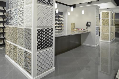 b f ceramics design showroom inc