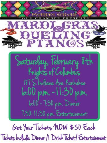 Mardi Gras And Dueling Pianos 2014 Feb 8 2014 Events