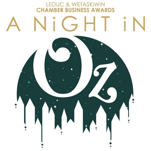 Leduc & Wetaskiwin Chamber Business Awards event logo