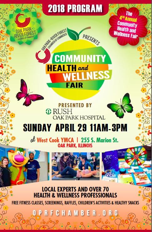 Health Wellness Fair  Oak ParkRiver Forest Chamber of