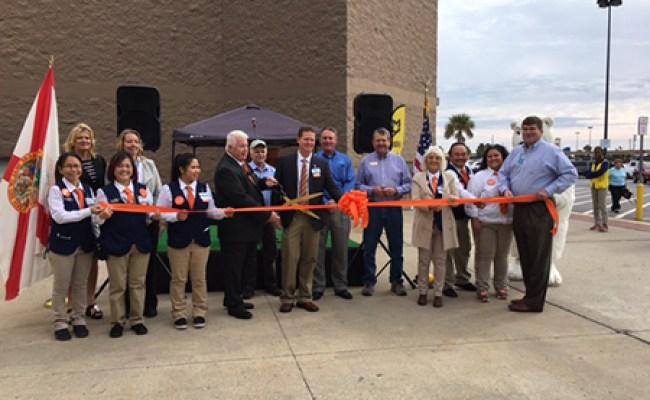 Ribbon Cutting Celebrates Destin Walmart S New Curbside