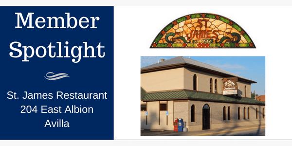 Member Spotlight St James Restaurant