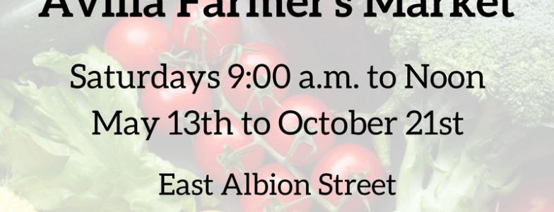 2017 Avilla Farmer Market