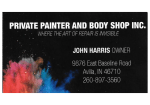 Private Painter & Body Shop, Inc.