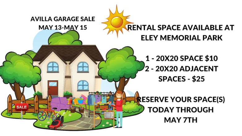 Garage Sale Space Rentals