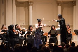 Chamber Orchestra of New York Salvatore Di Vittorio, Music Director and Conductor Sirena Huang, Violin - Vivaldi