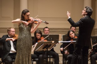 Dirk Brosse conducts Chamber Orchestra of New York at Carnegie H