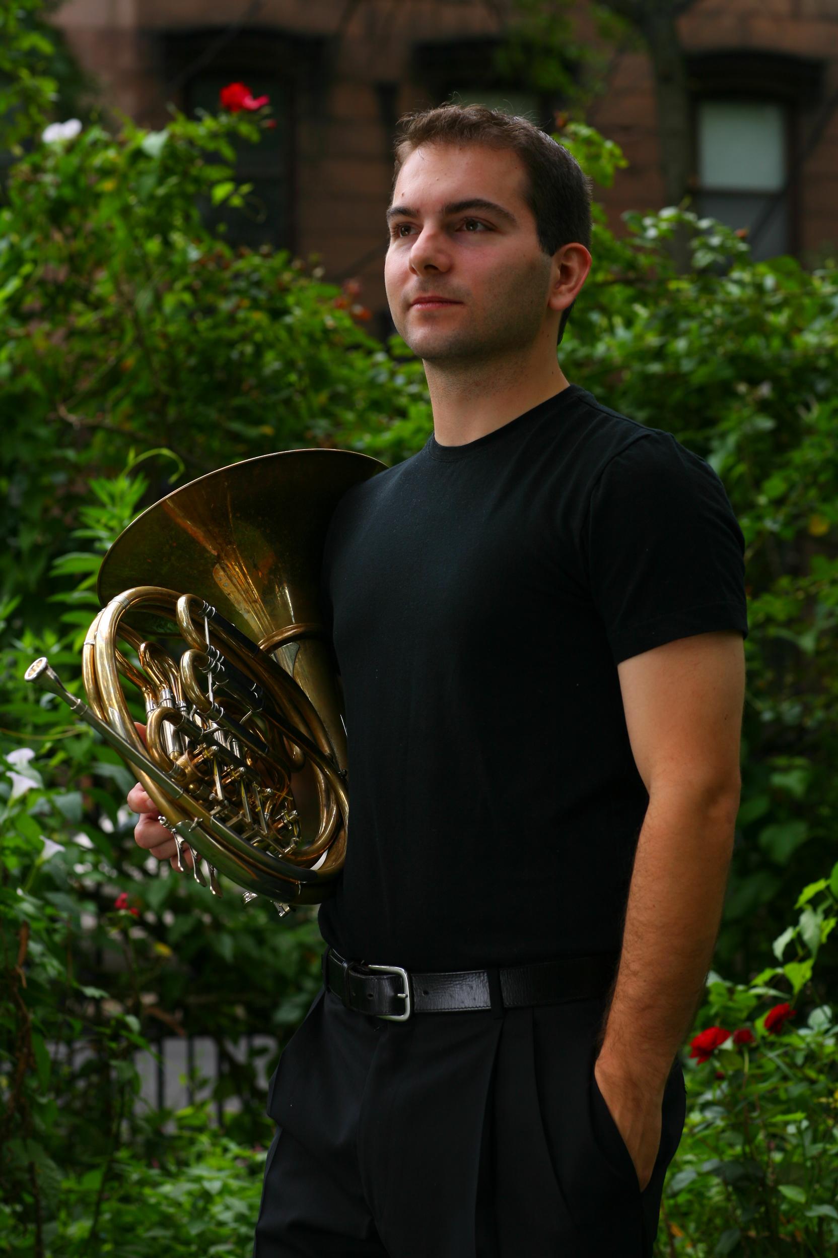 French Horn, Aleks Ozolins, Principal