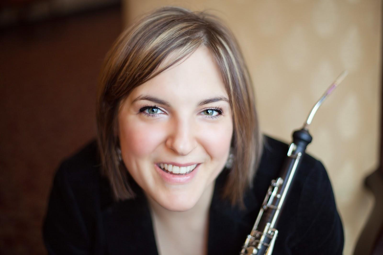 Anna Steltenpohl, oboe - Rochester Philharmonic Orchestra