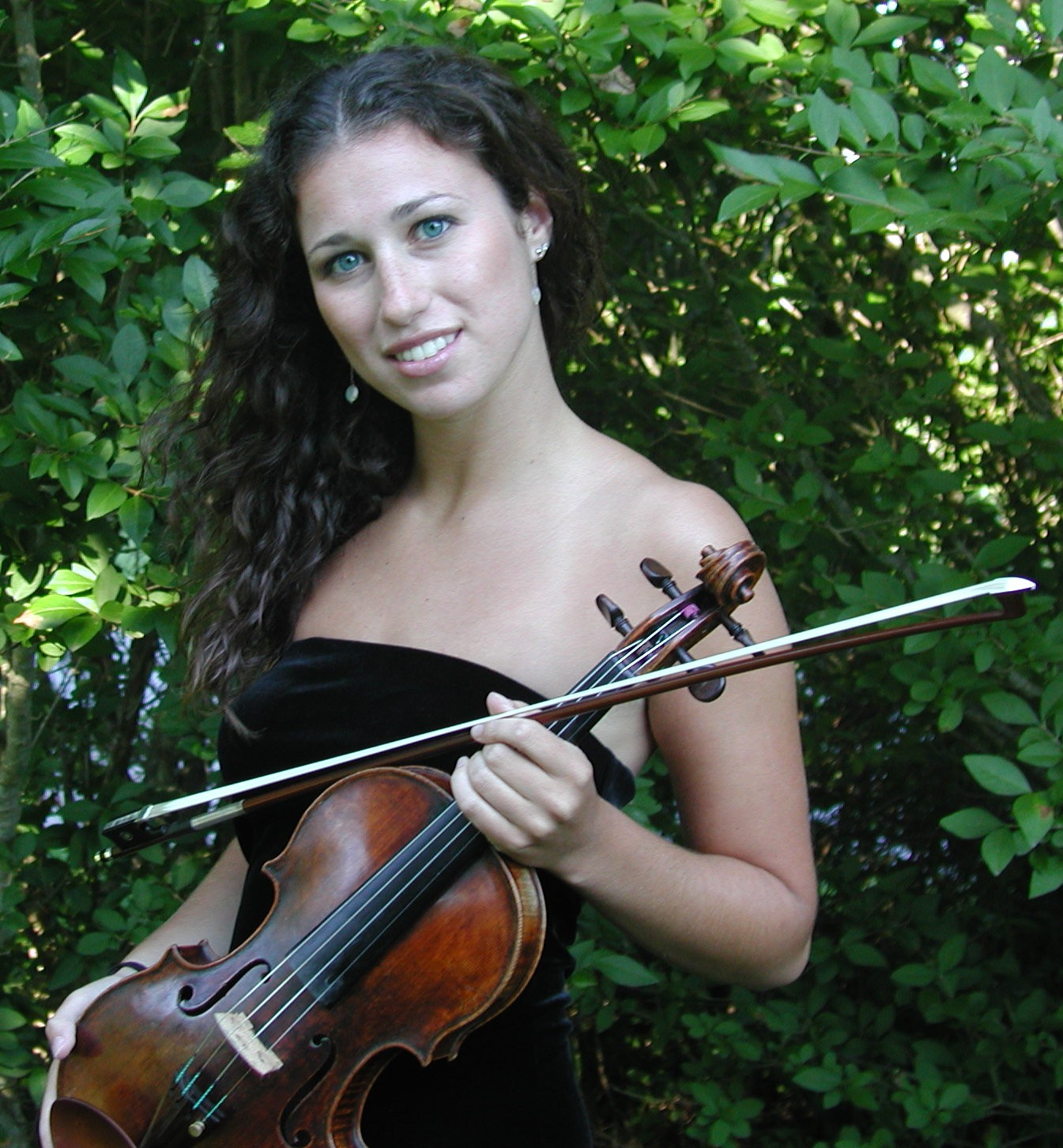 Violin 1, Sarah Charness