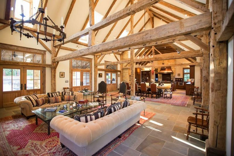 Design By Dallas Architect Steve Chambers Barn To Home Conversion