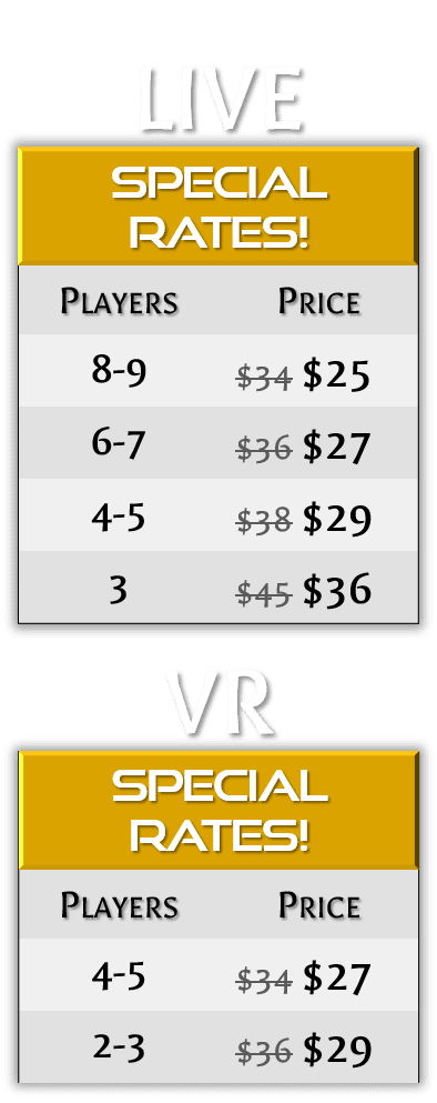 Updated Pricing