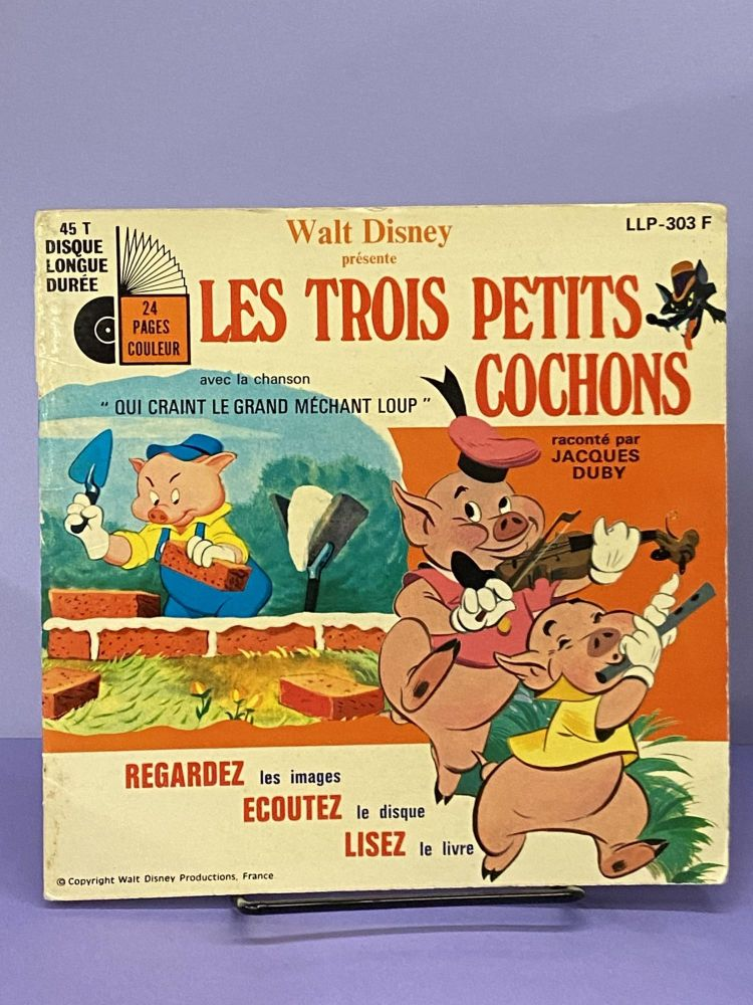 Les Trois Petits Cochons (disney) : trois, petits, cochons, (disney), Trois, Petits, Cochons, Jacques