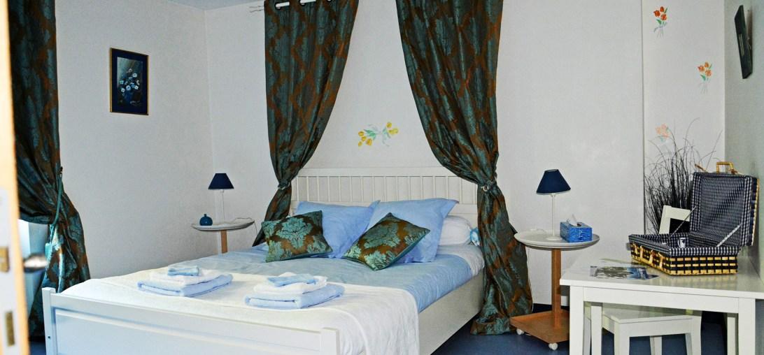 Forges d'enfalits - chambres d'hôtes en Ariège - Chambre Myrtille - 1920p n°1