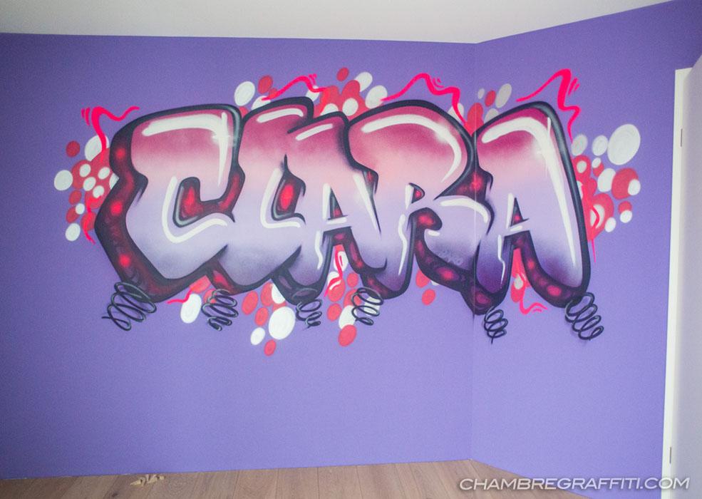 Chambre Graffiti de Clara  Chambre graffiti