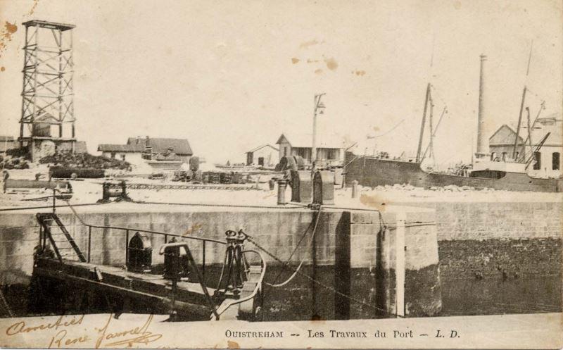 Le port de Ouistreham