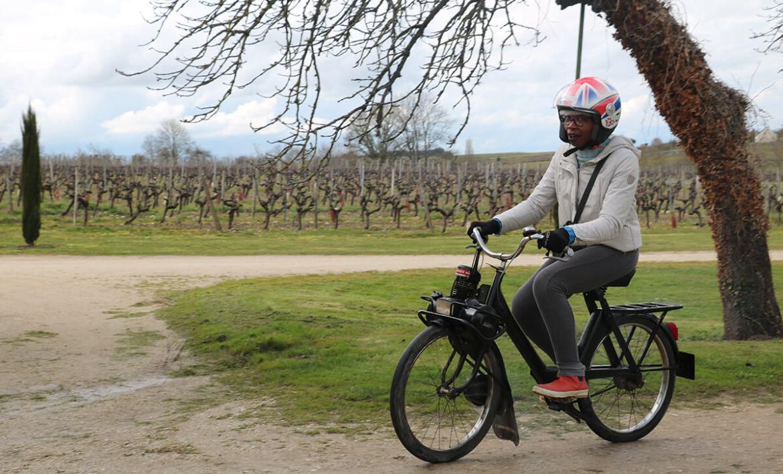 Expérience Wine and Solex au Domaine de Pied-Flond