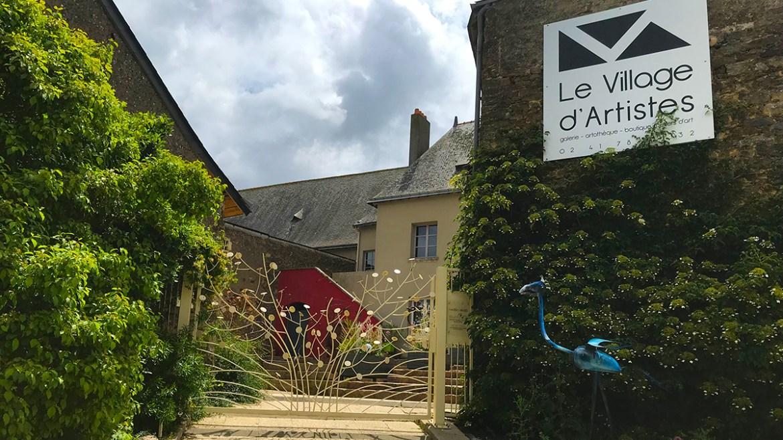 Rablay sur Layon, village d'artistes en Anjou