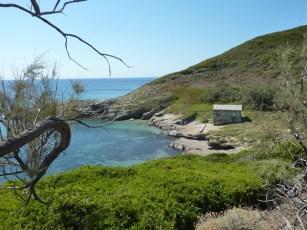 la côtes Ouest du Cap Corse avec ces criques paradisiaques