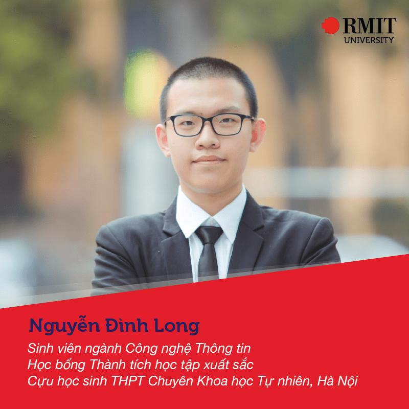 Nguyễn Đình Long - sv Công nghệ thông tin RMIT