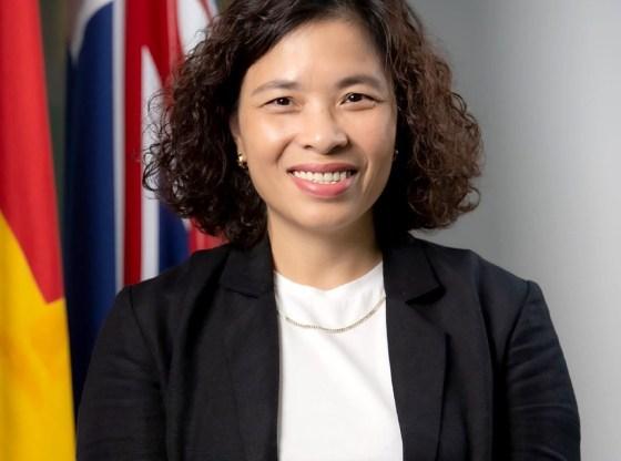 Chị Dương Hồng Loan - Giám đốc Đối ngoại chiến lược, Đại học RMIT VN