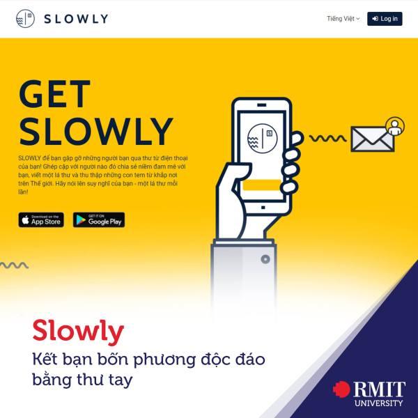 get slowly