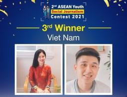 Sinh viên RMIT đạt giải ba cuộc thi báo chí xã hội thanh niên ASEAN