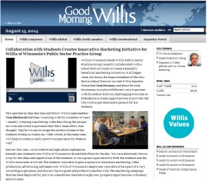 Willis Global and Chameleon Communications