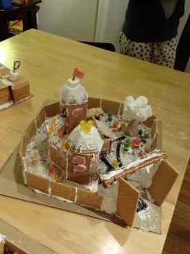 2012: Winterfell, complete with gummi bear Bran being carried by Hodor