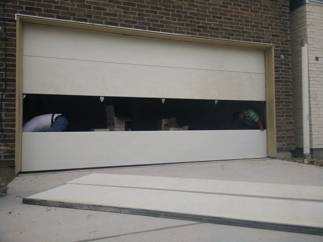 Garage Door Panel Replacement In Austin Chameleon