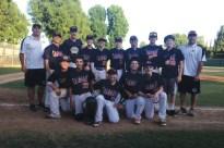 Delphic Blue baseball 8th grade