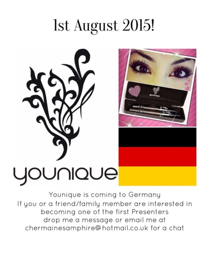 Younique Germany Launch