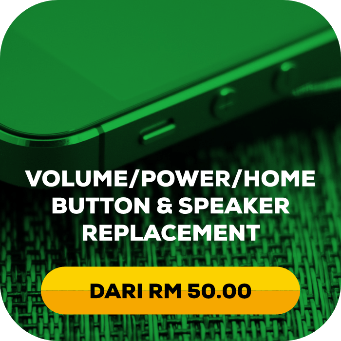 volume power home button speaker replacement