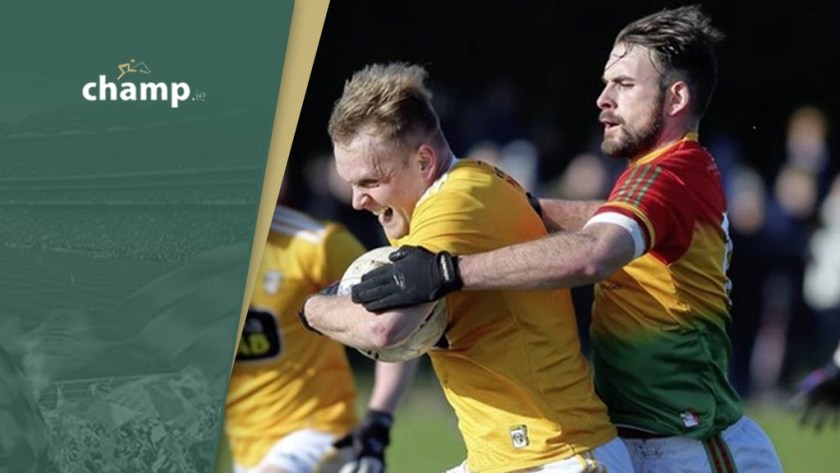 Carlow and Antrim - Two Tier Championship