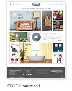 Goodstore est un superbe thème premium pour boutique en ligne réalisée avec WordPress et WooCommerce.