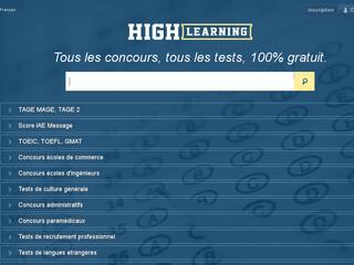 tests en ligne pour concours