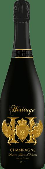 Champagne Brut HERITAGE - Prince Henri d'Orléans - Altesse Royale