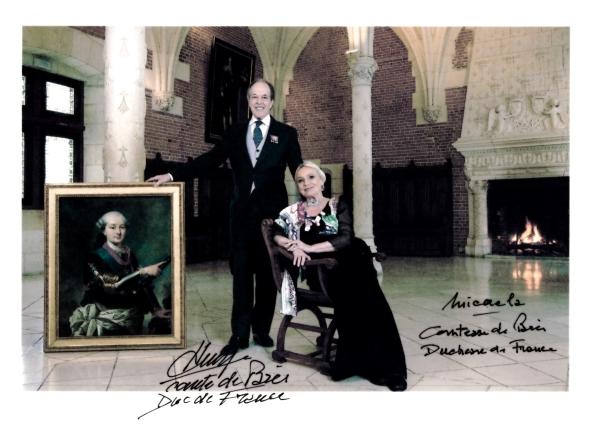 Prince Henri d'Orléans & Princess Micaela Cousino Quinones de Leon