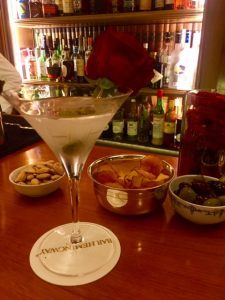 Bar Hemingway at the Ritz, Paris with Champagne Travels blog