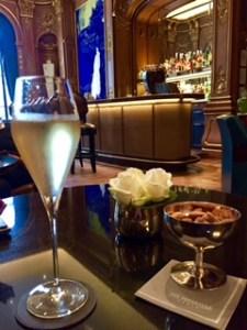 Le Bar Kléber at the Peninsula, Paris - Champagne Travels blog