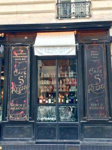 Cafe St. Regis, Paris - Champagne Travels