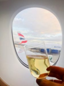 Toast to airline travel