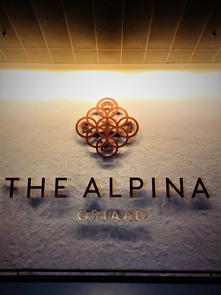 Eileen Callahan of Champagne Travels in Gstaad at The Alpina Gstaad