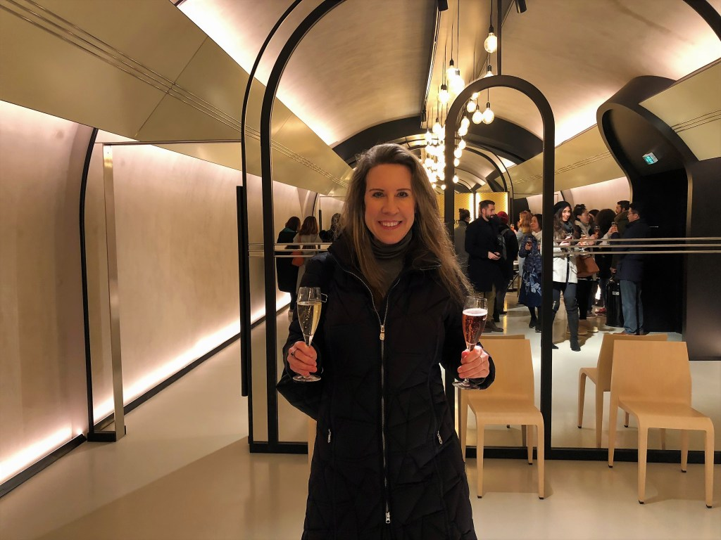 Eileen Callahan Luxury Travel Writer at Champagne-Travels visits Moet & Chandon in Epernay, France