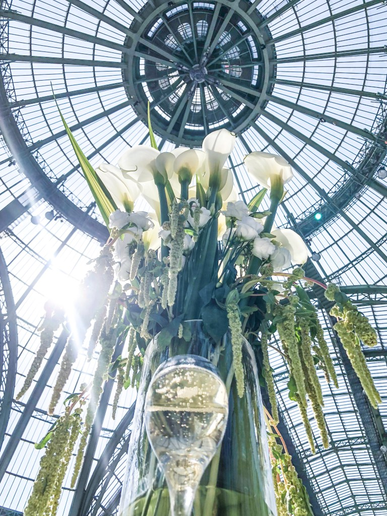 Champagne Travels in Paris France with Eileen Callahan at Grand Palais