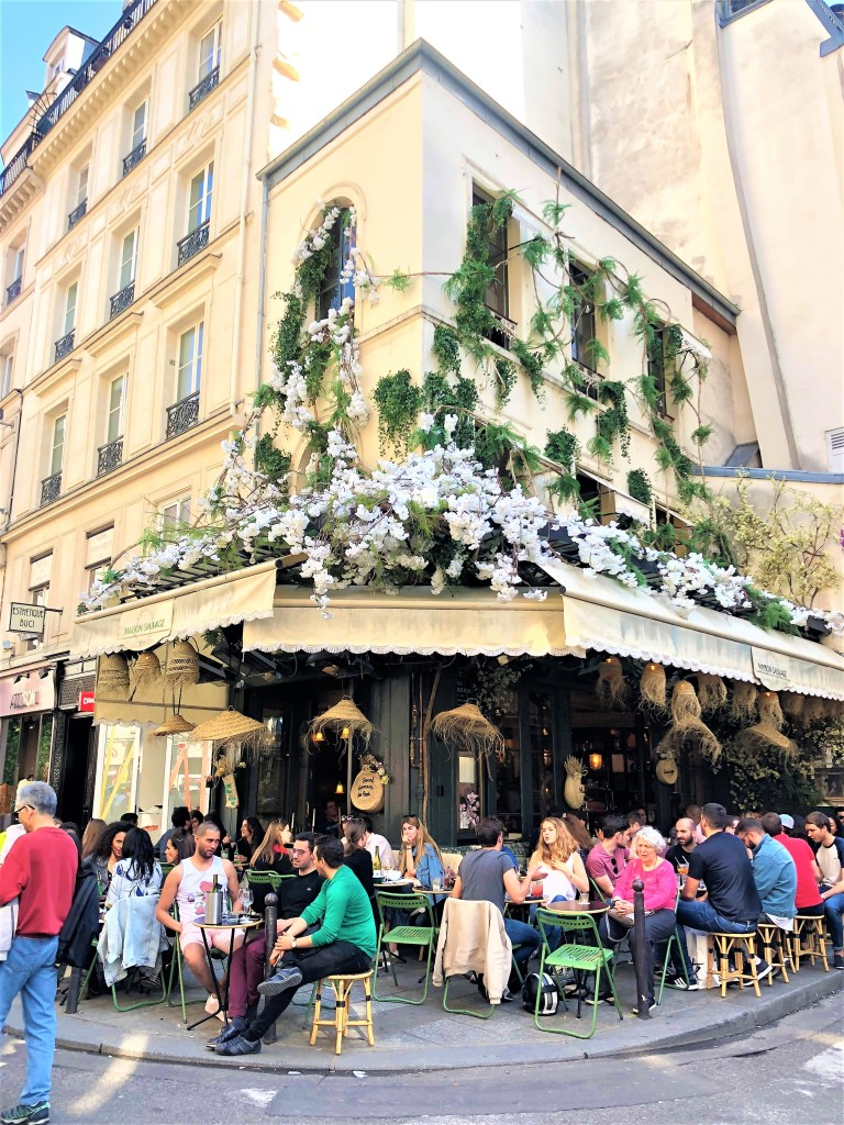 Champagne Travels luxury Travel Writer Eileen Callahan in Paris France
